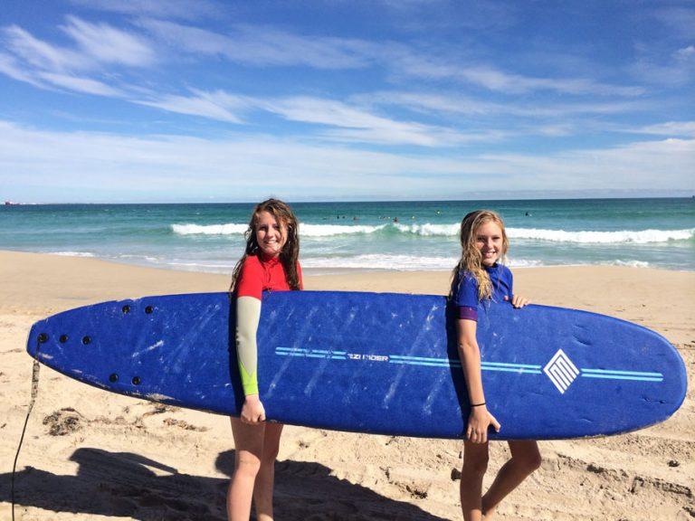 Shanae & Gemma Tandem Board Carry
