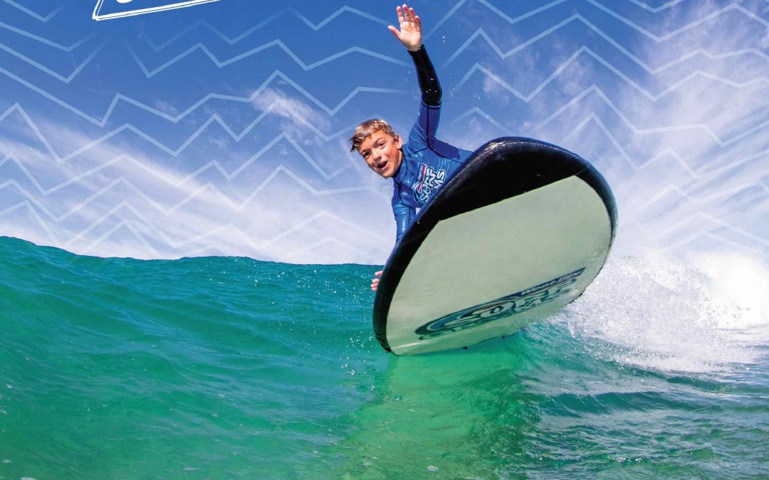 New 4 Session Weet-Bix Surf Grom Classes Term 3 School Holiday Programs with Midwest Surf School
